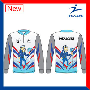 Good Design for Any Logo Sublimation Fishing Jersey Shirt pictures & photos