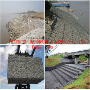 PVC Coated Galfan Galvanized Gabion Box Mattress (EGB-01) pictures & photos