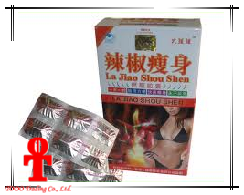 La Jiao Shou Shen Hot Pepper Slimming Capsule Weight Loss Diet Pills pictures & photos
