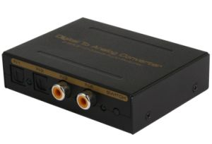 Digital to Analog Converter (2 SPDIF+2 Coaxial Audio) pictures & photos