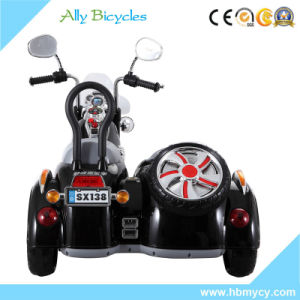 LED Police Electric Battery Operated Kids 3 Wheels Toy Motorcycle pictures & photos