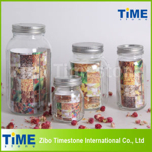 Hot Sale Round Shape Glass Food Storage Mason Jar pictures & photos