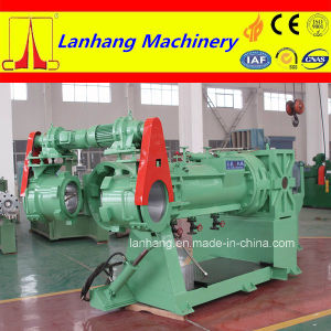 Lanhang Brand Twin Screw Rubber Strainer Extruder Machine pictures & photos