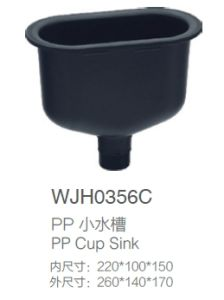 PP Cup Sink (WJH0356F) pictures & photos