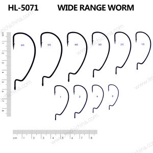 Wholesale Wide Range Worm Hook pictures & photos
