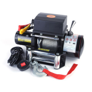 6000lb Car Electric Winch for Recovery pictures & photos