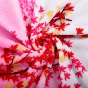 100% Polyester Coral Fleece Printed Blanket pictures & photos