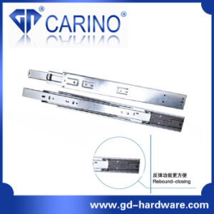 Top Quality Telescopic Drawer Channel /3-Fold Steel Ball Bearing Slide (4503) pictures & photos