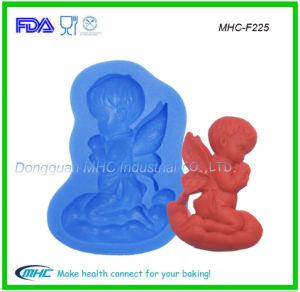 LFGB Food Grade 3D Silicone Angel Mold