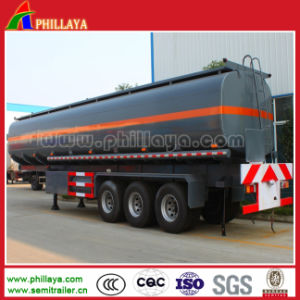 30-60m3 Oil Tanker Transport Fuel Tank Truck Trailer pictures & photos