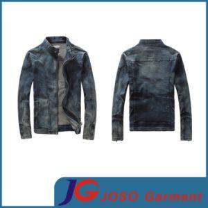 Man Coat Denim Jacket Blue and Black (JC7028) pictures & photos