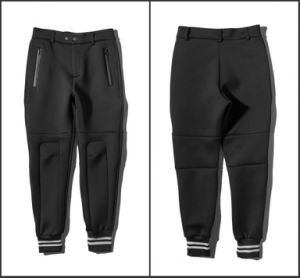 Space Cotton Pants Pockets Zip Ankle Banded Pants pictures & photos