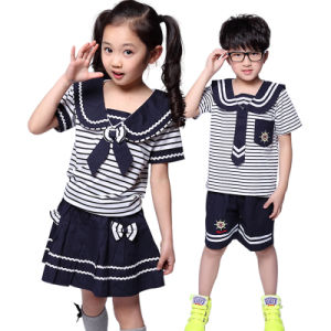 School Uniform for Kid′s in New Style pictures & photos
