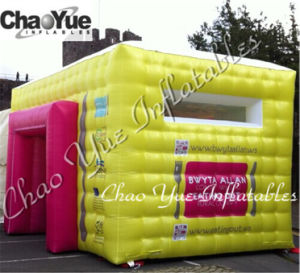 Custom Golden Inflatable Cube Tent with Whole Sale Price (CYTT-597) pictures & photos