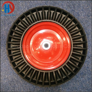China Crumb Solid Rubber Wheel pictures & photos