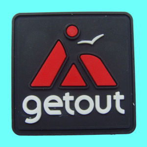 Rubber Garment Label, Available in Various Logos pictures & photos
