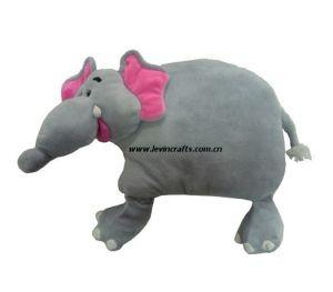 Animal Elephant Plush Pet Pillow