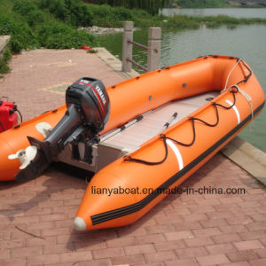 Liya 2m to 6.5m Pontoon Boat with Motor Inflatable Boat pictures & photos