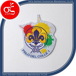 Cheap Woven Badges for Clothing/Custom Woven Patch for Clothing pictures & photos