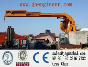 Hydraulic Telescopic Crane for Ship and Offshore Platform pictures & photos