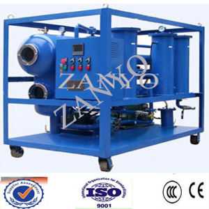 Mobile Trailer Type High Vacuum Transformer Insulating Oil Recycling Purifiers pictures & photos