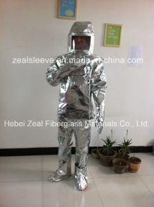 Flame Proof and Heat Protection Garment, Fire Fighter Suit, Aluminized Flame Proof and Heat Protection pictures & photos