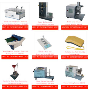 Micro-Computer Iron Nail Detecting Testing Machine/Needle Detector/Metal Detector and Fabric Inspection Machine (GW-058A) pictures & photos