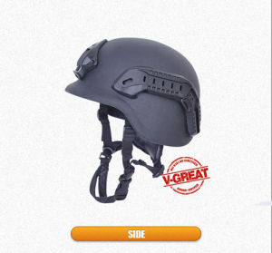 Bulletproof Helmet Pasgt with Side Rails and Shraud pictures & photos