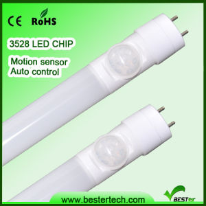 LED Tube with Motion Sensor, 100%Lighting to 10%Lighting for Parking Lot