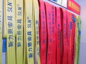 8tx10m Polyester Webbing Sling Safety Factor 7: 1 pictures & photos