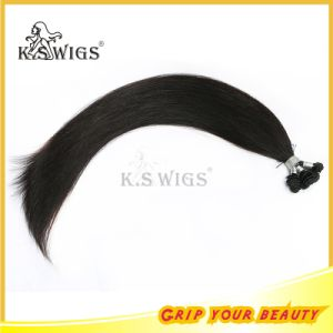 Hand Tie Hair Weft Indian Remy Human Hair Extension pictures & photos