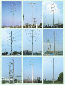 Power Distribution Lattice Tower