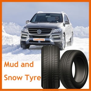 Mud and Snow Pattern Tyre, PCR Car Tyre, Passenger Car Tyre