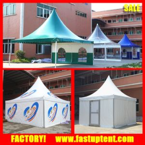 Aluminum and PVC Outdoor Summer Garden Gazebo Tent pictures & photos