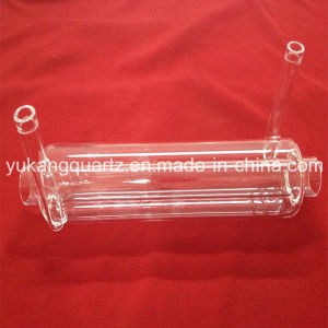 Clear Double Deck Silica Quartz Glass Tube pictures & photos