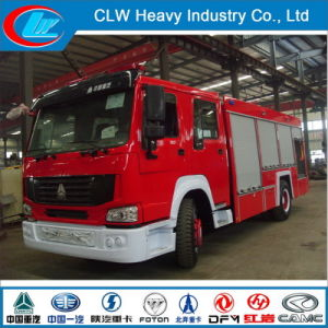 HOWO Fire Truck, Fire Fighting Truck with Fire Extinguisher, Fire Truck pictures & photos
