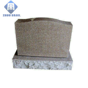 European Style Granite Tombstone with Customered Design