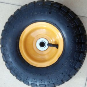 10inch 3.50-4 Pneumatic Wheel for Hand Truck pictures & photos