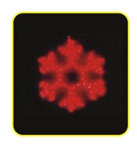 LED Motif Light, 2d Snowflake pictures & photos