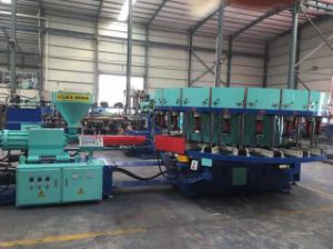 One Color Plastic Soles Injection Molding Machine