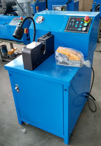 Air Conditioning Hose/Pipe Crimping Machine Side Opening /Side Feeding Hose Crimper pictures & photos