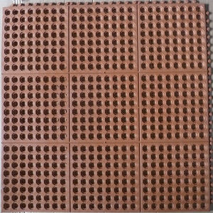 Anti Slip Rubber Mat/Interlocking Anti Slip Rubber Mat/Anti-Slip Kitchen Mats pictures & photos