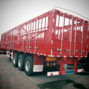 ISO CCC 3 Axles 33t Stake Truck Trailer for Products