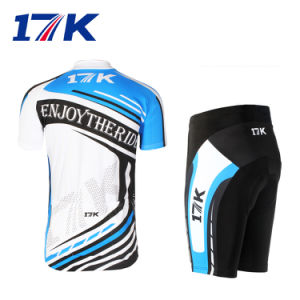 17k Short Men Cycling Clothes with Sublimation Printing