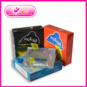 Different Types of Condoms Dotted Condom Ribbed Condom pictures & photos