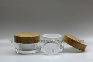 Plastic Container and Jar for Cream (NJ28-a) pictures & photos