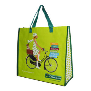 Custom Full Color Recycled PP Woven Bag Supplier