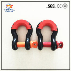 Forged Painted Steel Hitch Receiver Shackle with Screw Pin pictures & photos