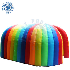 Inflatable Multicolor Advertising Dome Tent (PLT30-002)
