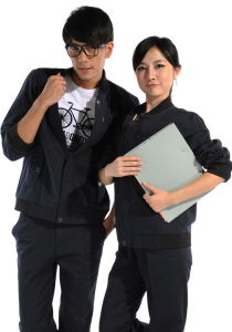 Fashion Designed Pure Cotton Work Uniforms Fo Unisex Gender